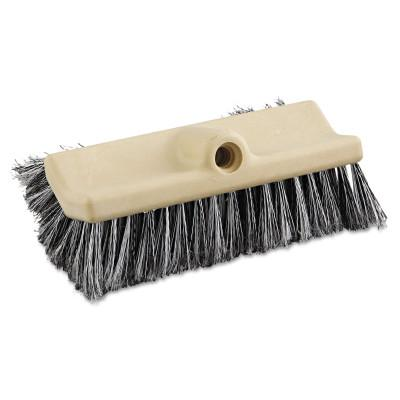 BOARDWALK PAPER Dual-Surface Vehicle Brush, 10 in Long, Brown