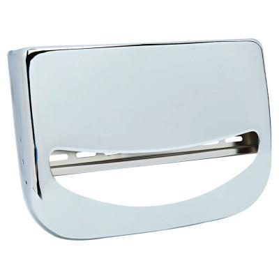 BOARDWALK Toilet Seat Cover Dispenser, 16 x 3 x 11 1/2, Chrome
