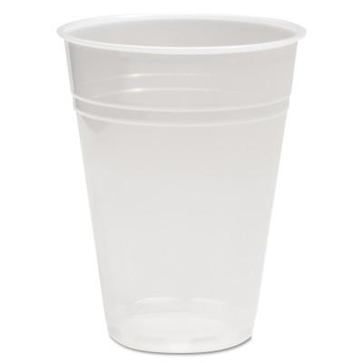 BOARDWALK Translucent Plastic Cold Cups, 16oz, Polypropylene, 50/Bag