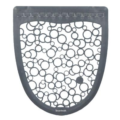 BOARDWALK Urinal Mat 2.0, Rubber, 17 1/2 x 20, Gray/White