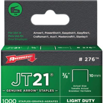"ARROW FASTENER 02738 JT21/T27 3/8"" STAPLE 1-000/PK"