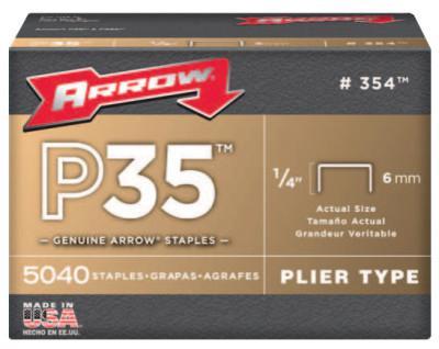 """ARROW FASTENER 1/4"""" STAPLES 5000 STAPLEPER BOX"""