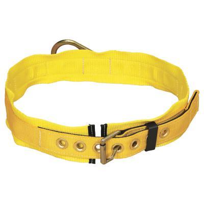 DBI/SALA Tongue Buckle Belt, Back D-ring, 3 Pad, Large