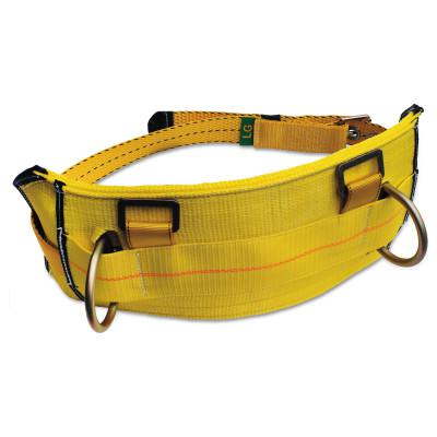 DBI/SALA Derrick Belt with Work Positioning D-Rings and Tongue Buckle, D-Ring, Large