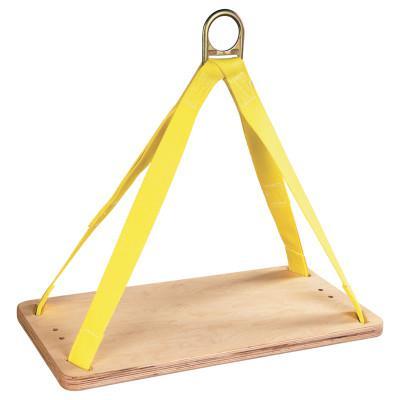 DBI/SALA Bosun Chairs, 310 lb Cap, 24 in, Yellow