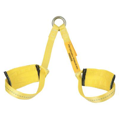 DBI/SALA Retrieval Wristlets for Confined Space Rescue, 2 ft, 2 Legs, D-Ring