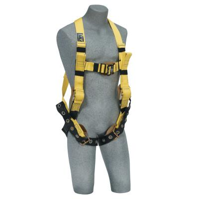 DBI/SALA Construction Harness, Side D-Rings, Quick Connect, Large