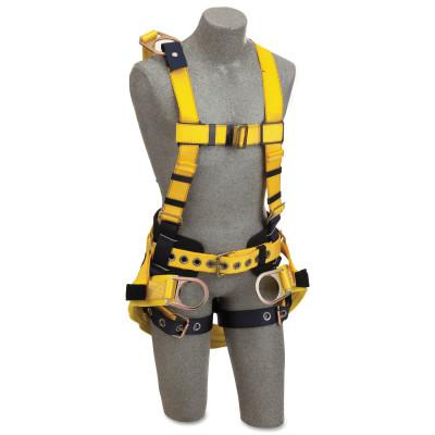 DBI/SALA DBI-SALA Delta Derrick Harness, Back/Side D-Ring, 2XLarge, Quick Connect Buckles
