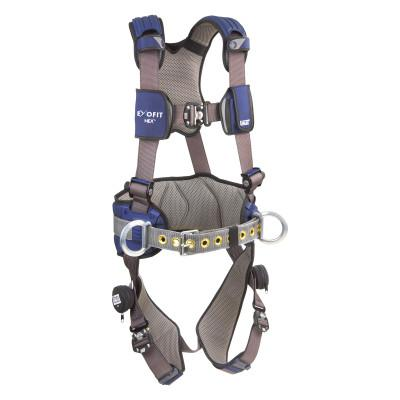 DBI/SALA ExoFit NEX Construction Harnesses, Back & Side D-Ring, Duo-Lok QuickConnect, Med