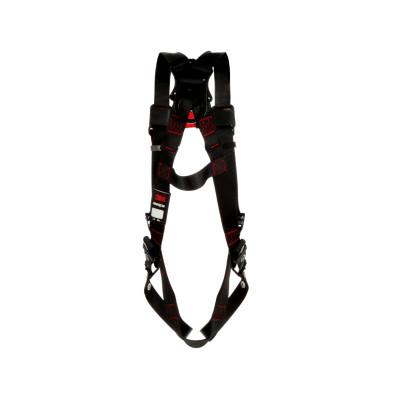 DBI/SALA Protecta Vest-Style Harnesses, Back D-Ring, X-Large, Quick Connect Buckles