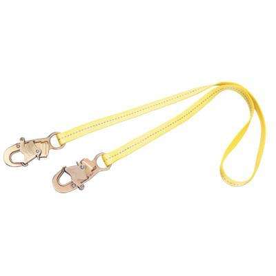 DBI/SALA D-Ring Extension Harness Accessories, 1.5ft, Snap Hook/D-Ring Connection, Yellow