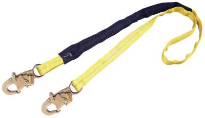DBI/SALA EZ Stop III Shock Absorbing Lanyard, 6 ft, Self-Locking Snaps Connection