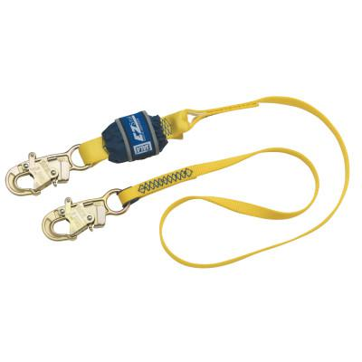 DBI/SALA EZ-Stop Shock Absorbing Lanyard, 4 ft, Self-Locking Snap Hook, 310lb Cap