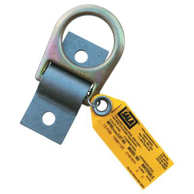 DBI/SALA D-Ring Anchor Plates, 1/4 in, D-Ring, Permanent, Bolt/Weld