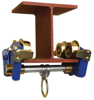 """DBI/SALA I-Beam Trolleys, 3"""" to 8"""" flange width thickness up to 11/16"""", 8 in, O-Ring"""