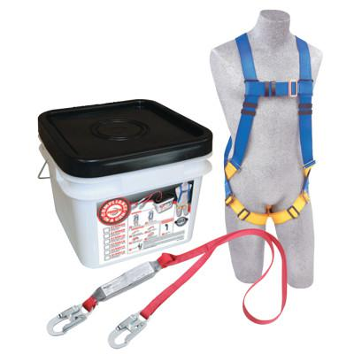 DBI/SALA Compliance in a Can Light Roofer's Fall Protection Kit, Back D-Ring, Vest