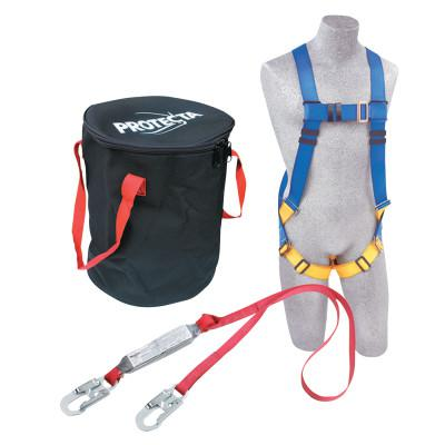 DBI/SALA Protecta Compliance-In-A-Can Roofer's Fall Protection Kit, Harness; Anchorage