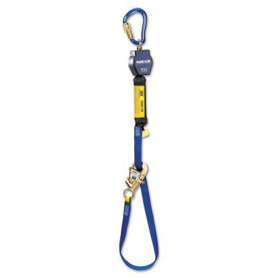 DBI/SALA Nano-Lok SRL Single-Leg Snap Hooks, 3/4 in, 3/4 in, 1 Leg, Steel Carabiner