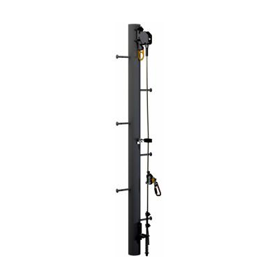 DBI/SALA Lad-Saf Cable Vertical Safety System Bracketry, 6.6 in x 16 in, Monopole