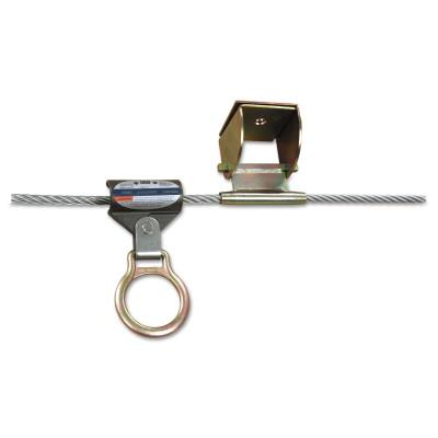 DBI/SALA Sayfline Permanent Multi-Span Horizontal Lifeline Systems, 140 ft, with Bracket
