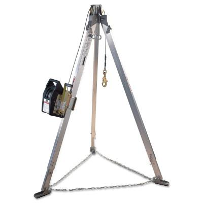 DBI/SALA Advanced Aluminum Tripods, Rescue Harness Systems, 7 in Long