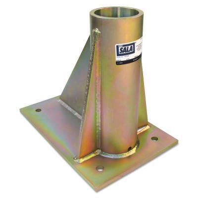 DBI/SALA SecuraSpan Fasten-in-Place HLL Bolt-on Floor Bases, Bolt-On Base