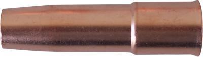 BEST WELDS Short-Stop MIG Gun Nozzles, 1/2 in Bore, 1/8 in Recess, Short-Stop