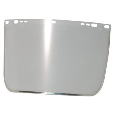 ANCHOR BRAND Visors, Clear, Aluminum Bound, 15 1/2 x 9 in