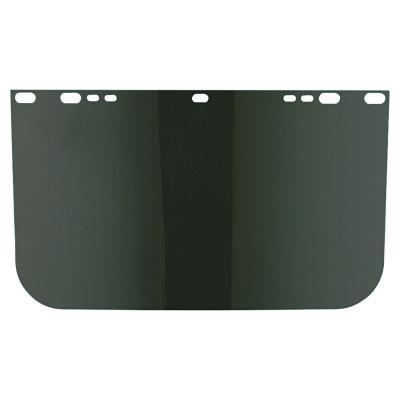 ANCHOR BRAND Visors, Dark Green, Unbound, 15 1/2 x 9 in
