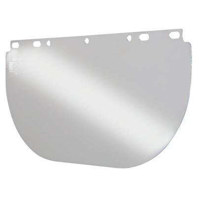 ANCHOR BRAND Unbound Visors For Fibre-Metal Frames, Clear, Visor, 16 1/2 x 8 in