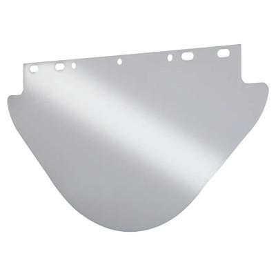 ANCHOR BRAND Unbound Visors For Fibre-Metal Frames, Clear, Visor, 19 x 9 3/4 in