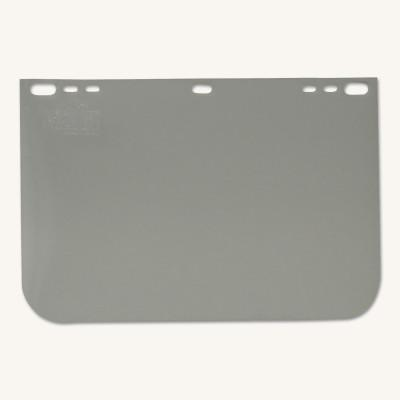 ANCHOR BRAND Visors, Clear, 8 in