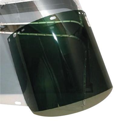 ANCHOR BRAND Visors, Dark Green, 8 in