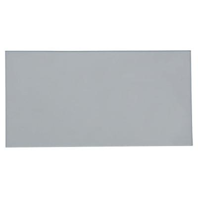 BEST WELDS Cover Lens, 4 1/16 in x 2 1/8 in, Polycarbonate, Clear