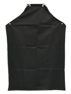 ANCHOR BRAND Hycar Apron, 35 in X 45 in, Black