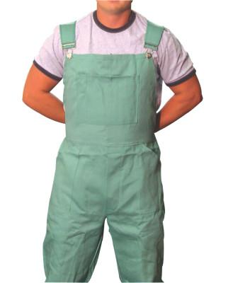 BEST WELDS Flame Retardant Overalls, Green, 2X-Large