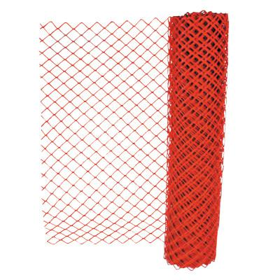 ANCHOR BRAND Safety Fences, 4 ft x 50 ft, Polyethelene, Orange