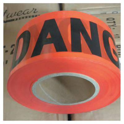 ANCHOR BRAND Economy Barrier Tape, 3 in x 1,000 ft, Red, Danger