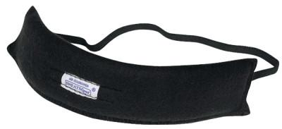 ANCHOR BRAND Traditional Sweat Bands, Fleece Cotton, Black