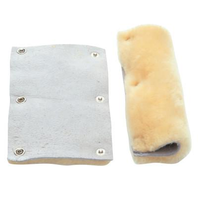 ANCHOR BRAND Sweat Bands for Suspension Headgear, Sheep's Wool, Light Tan