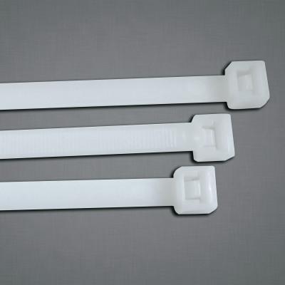 ANCHOR BRAND General Purpose Cable Ties, 50 lb Tensile Strength, 11.1 in L, Natural, 100 Ea/Bag