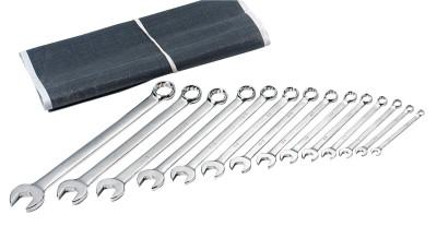 ANCHOR BRAND 14 Piece Combination Wrench Sets, 12 Points, Metric