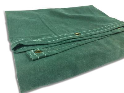 ANCHOR BRAND Protective Tarps, 10 ft Long, 8 ft Wide, Green Canvas
