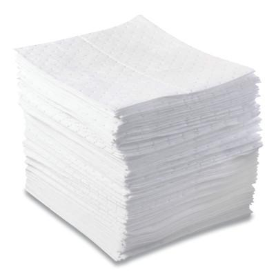 ANCHOR BRAND Oil-Only Sorbent Pads, Heavy-Weight, Absorbs 20.5 gal, 15 in x 17 in