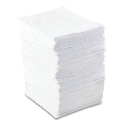 ANCHOR BRAND Oil-Only Sorbent Pads, Light-Weight, Absorbs 34 gal, 15 in x 17 in