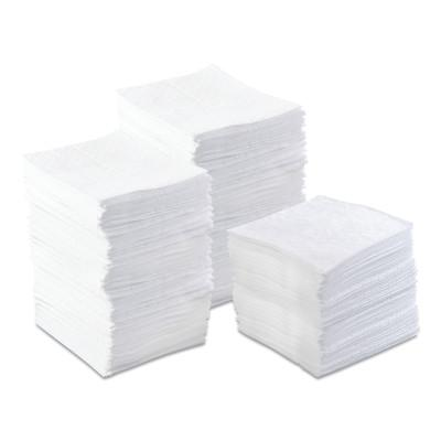 ANCHOR BRAND Oil-Only Sorbent Pads, Light-Weight, Absorbs 17 gal, 15 in x 17 in