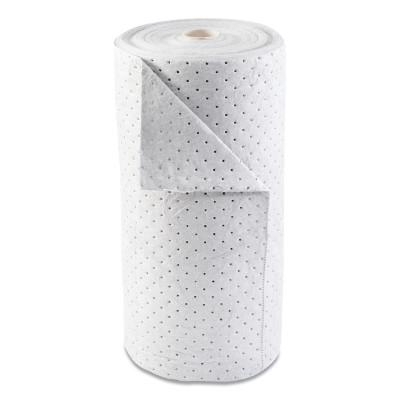ANCHOR BRAND Oil-Only Sorbent Rolls, Heavy-Weight, Absorbs 24 gal, 30 in x 120 ft