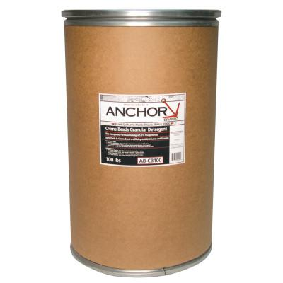 ANCHOR BRAND Granular Creme Beads, 100 lb Drum