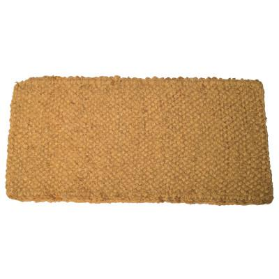 ANCHOR BRAND Coco Mat, 33 in Long, 20 in Wide, Natural Tan