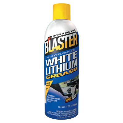 BLASTER White Lithium Grease, 16 oz Aerosol Can